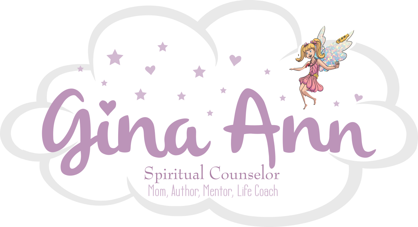 Masthead Image - Gina Ann, Spiritual Counselor - Mom, Author, Mentor, Life Coach